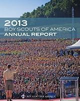 Boy Scouts of America Annual Report Cover