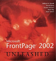 FrontPage 2002 Unleashed Cover