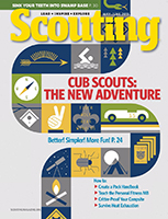 Scouting Magazine Cover